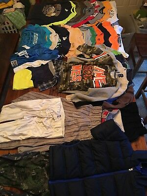 Boys  Lot Sz 6-7 All Seasons Lot Of 30+ Pieces