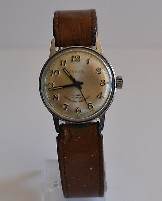 Vintage Vindel 17 Jewel Incabloc Swiss Movement Watch, Tested Timed Working, Exc