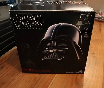 Hasbro - Star Wars - The Black Series - Darth Vader Helm 1:1 1/1 m.Funktion NEU