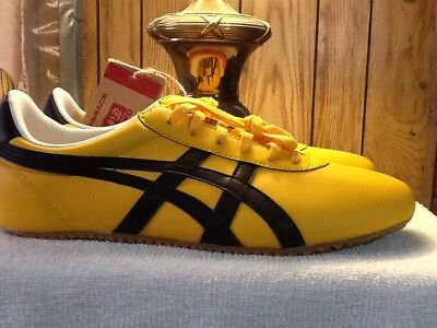 new style 35171 24acb ASICS ONITSUKA TIGER Tai Chi Yellow Kill Bill Bruce Lee Shoes Sneakers 8  41.5