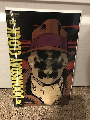 Doomsday Clock #1 Lenticular Cover DC Comics (2017) 1st Print