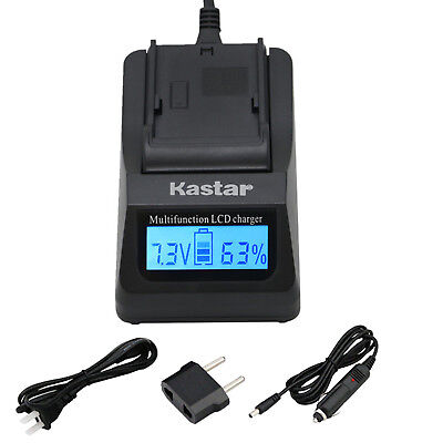 Kastar Battery LCD Fast Charger for Nikon Original EN-EL15a Nikon Genuine MH-25a