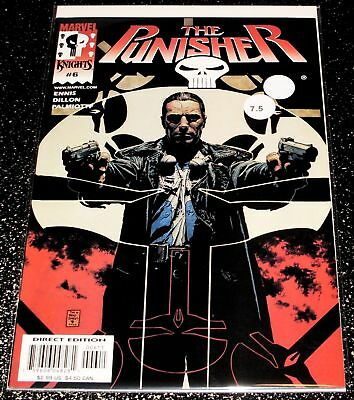 The Punisher 6 (7.5) Garth Ennis - Marvel Knights