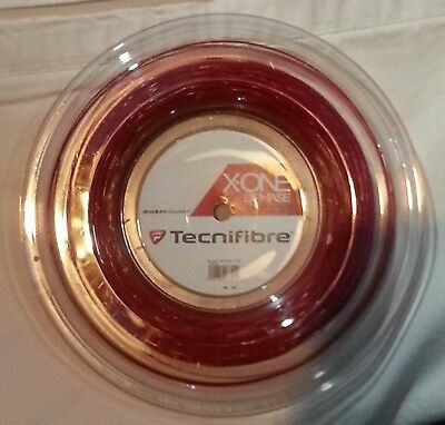 NEW Tecnifibre X-one Biphase squash string reel 18Ga. (1.18mm)