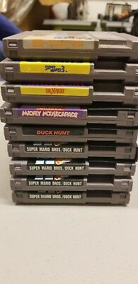 Nintendo NES Game Lot of 9