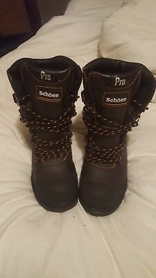 Schoen 1100 Pro Chainsaw Forestry Boots Class 3 Protection Sizes 10