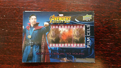 FC27 Our Will Equal To Yours Film Cel Film Cels Card Avengers Infinity War