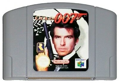 007 GOLDENEYE (PAL N64 Game) Nintendo 64 James Bond GENUINE A