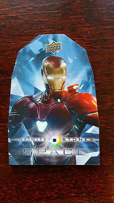 BS1 Iron Man Space Infinity Stones Precious Stones Card Avengers Infinity War