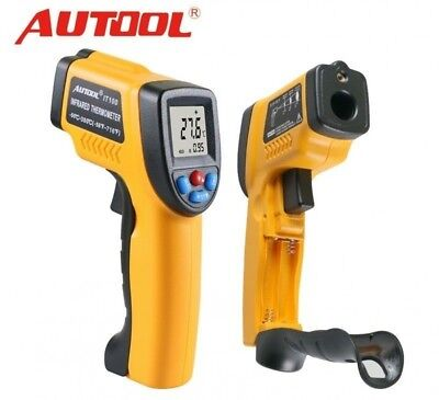 Autool IT100 Non-Contact LCD Laser Infrared Digital Temperature Thermometer NYPR