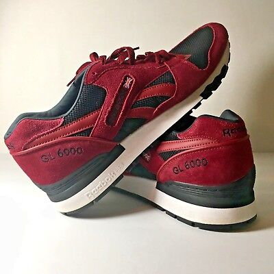 14eb5fcc030 Reebok GL 6000 Mens Size 11 Shoes Maroon Crimson Black Running Athletic  Shoes