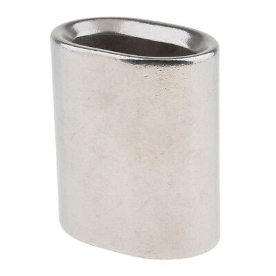 22 mm - 28 mm Oval Stainless Steel Ferrule for Crimping Wire Rope