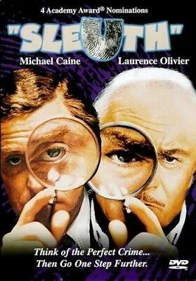 Sleuth – Dvd, Michael Caine, Laurence Olivier, Usa Region 1, Sealed Brand New