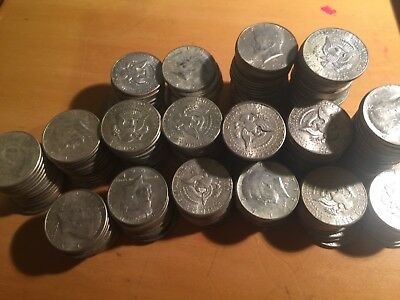 90% Silver Half Dollars $1.00 Face Value 1964 Kennedy Half Dollars No Junk