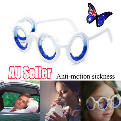 Glasses Cure Car Sickness Magnetic Anti-motion For No More Sickness. All Age NW
