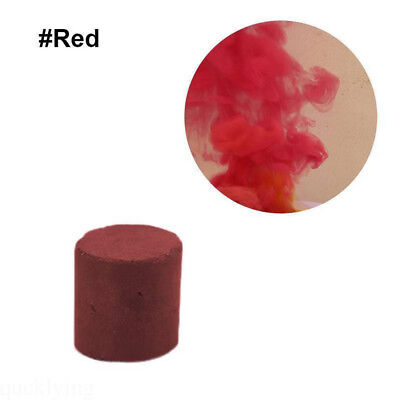 1Pc Red Smoke Cake Smoke Effect Round Bomb Stage Photography Aid Prop Supply