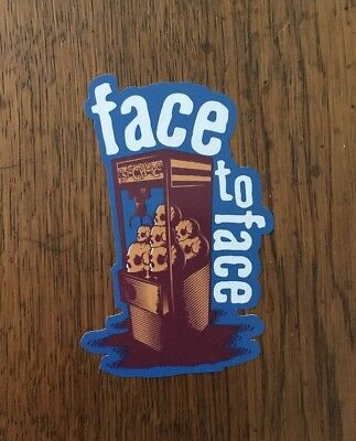Face To Face Sticker - Big Choice