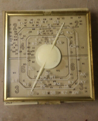 "Stromberg Carlson ""Musiclock"" Radio Parts,( Dial and Clock)"