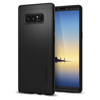 Samsung Galaxy Note 8 Spigen® [Thin Fit 360] Protective Case Cover + FREE Screen