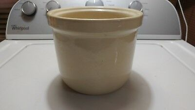 Old Vintage Helmco Lacy Hot Food Ice Cream Syrup Dispenser Pottery Insert RARE