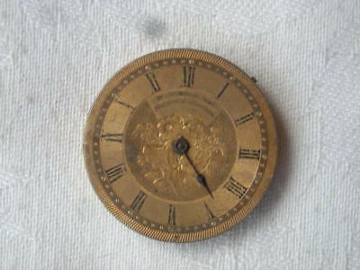 Antique DENIS BROTHERS, Melbourne, WATCH MOVEMENT - As Found....