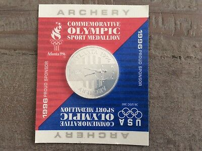 General Mills 1996 Atlanta Summer Olympic Sport Medallion - Archery
