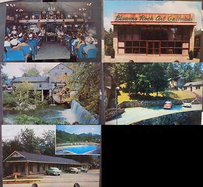 Lot of 11 Vintage Postcards Travel Destinations NC DL MA UNPOSTED TR2