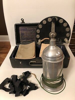 Antique Authentic Electricure Quack Medical Device McKee & Johnson Collectable
