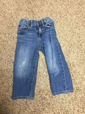 Toddler Boys Baby Gap 2t Light Was Jeans W Adjustable Straps