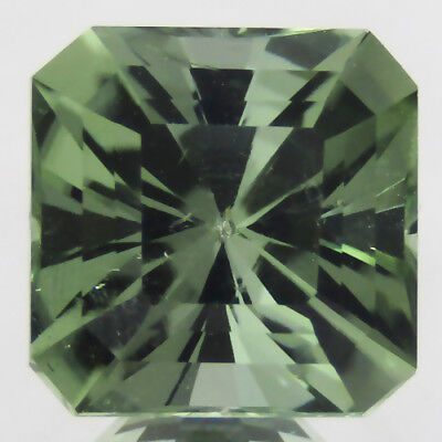 3.00Cts Natural Gorgeous Green Amethyst (Prasiolite) 8.2mm Barion Cut Gemstone!