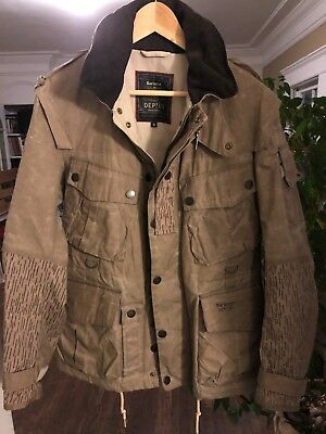 Barbour Oilskin Field Jacket Men's size Medium (Limited Edition) Dept B. Field.