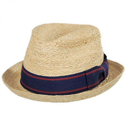 794abfd4cb3 STRAW FEDORA HAT by Daniel Cremieux Collection MSRP  35 NWT COOL ...