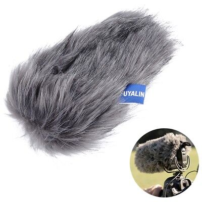 Outdoor Furry Windscreen Windshield Cover Muff For Rode VideoMic Pro+ Microphone
