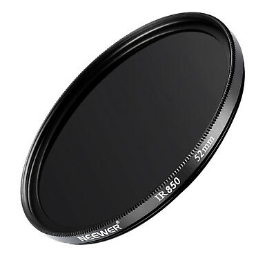 Neewer 52mm IR 850nm Infrared Filter for Canon 28mm f/2.8 35mm f/2.0 50mm f/1.8D