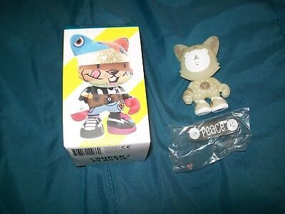 Janky Superplastic Bubi Au Yeung Glow-In-The-Dark Chase Figure Rare Vinyl Toy