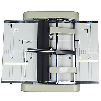 Brand New Booklet Maker Book Binder Staple Folder 110V Automatic Free Shipping