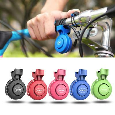 120db MTB Bike USB Rechargeable Bicycle Handlebar Horn Alarm Ring for 22-31.8mm