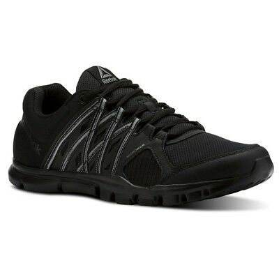 Reebok Yourflex Train 8.0 LMT Black Pewter Mens Running Shoes Sneakers  CN1857 613d991e9
