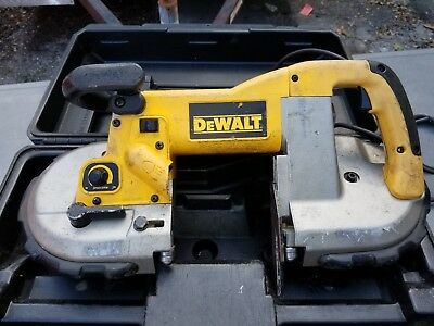 Dewalt D28770K Heavy Duty Deep Cut Variable speed Band Saw Kit