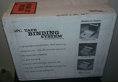 NEW in Box VPC TAPE BINDING MACHINE SYSTEM