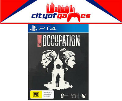 The Occupation PS4 Game Brand New & Sealed In Stock