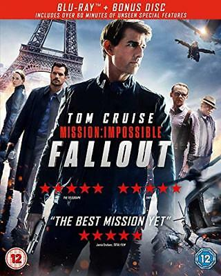 Mission Impossible  Fallout (Bluray  Bonus Disc) [2018] [Region Free] [DVD]