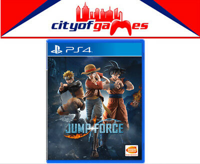 Jump Force PS4 Game Brand New & Sealed