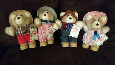 Wendys Collectible Bears 1986 (Furskins)