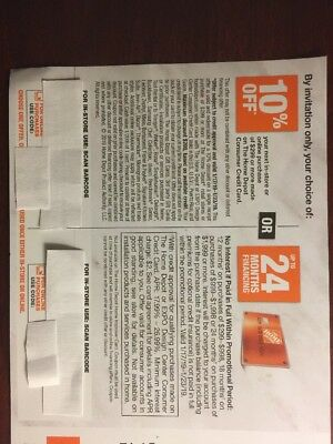 Home Depot 10% off w/ HD credit card coupon - Online or In Store - Exp 1/23/19