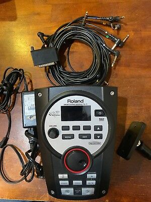 Roland TD-11 Electronic V Drum Module with Power Cord, Mount Kit, Wiring Harness