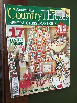 Australian Country Threads Christmas Special Issue Vol 4 No:07