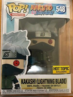 Hot Topic Exclusive Naruto Kakashi with Lightning Blade Funko Pop! In Hand
