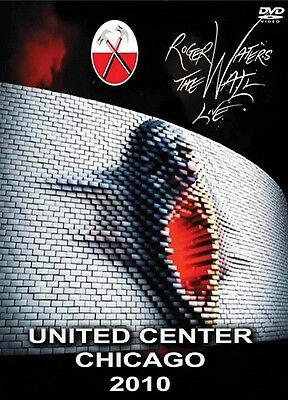 Roger Waters (Pink Floyd) Live. The Wall Chicago 2010 DVD [NEW/SEALED - NTSC]