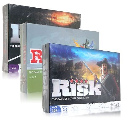 Risk: The Game Of Strategic Conquest Party Board Games Family Faster Gameplay